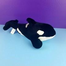 "Sea World Shamu Orca Killer Whale 15"" Plush Stuffed Animal  - $18.80"