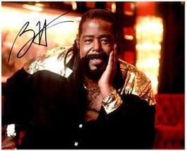 BARRY WHITE  Authentic Original 8x10 SIGNED AUTOGRAPHED PHOTO w/ COA 883 - $65.00