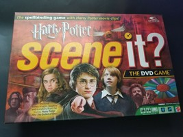 Harry Potter Scene It? 1st Edition DVD Board Game 2005 by Mattel 100% Co... - $19.75