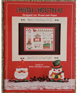 Cheery Christmas by Kathy Distefano Griffiths Holiday Tole Painting Book... - $7.98