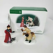 Department 56 These Are For You 58530 Dickens Village Set of 2 Includes ... - $38.59