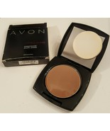 Avon EXTRA LASTING Pressed Powder FAWN New in Box Retired Stock - $18.81