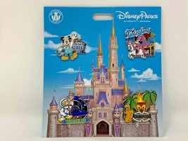 Disney Parks Mickey Mouse and Friends Four Lands Pin Set Fantasyland Don... - $49.49