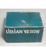 Lillian Vernon Citronella Votive Candle Set of 16 Burn Yellow Made in Macau - $29.05