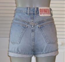 Vintage Bongo High Waist Button Fly Jean Shorts Mom Shorts~7~ - $35.00