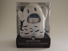Colonial Candle Electric Wax Warmer-2016 Limited Edition Ghost Theme - $30.00