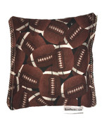 Football Rice Pack Hot Cold Pad Pick Scent Ricepacks Microwaveable Rice Pad - $9.99
