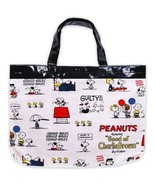 Snoopy Laminated Tote Bag Lesson Bags Practice Bag Friend Sanrio Entranc... - $45.82