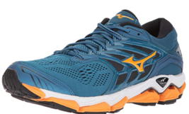 Mizuno Ondulata Orizzonte 2 Size 8.5 M (D) Eu 47 da Uomo Running Scarpe Blu