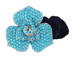 Fashion Rhinestone Hair Accessories Hair Rope Hair Ring Ponytail Holder #4 - $14.12