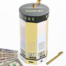 Money Saving Box Piggy Bank for Adults Travel Fund, Vacation Fund, Adventure Fun