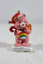 Cheer Bear Christmas Ornament American Greetings 2005 Care Bears Rainbow  - $19.79