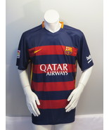 FC Barcelona Jersey - 2015 Home Jersey by Nike - Men's Extra Large  - $75.00