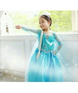 Frozen Elsa Costume Dress - size 4/5 Ships from US - $6.79