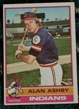 Alan Ashby, Indians,  1976  #209 Topps Baseball Card,  GOOD CONDITION - $0.99