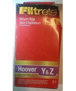3M Filtrete Hoover Type Y and Type Z Vacuum Bag, 2 Pack 64703B - $6.35