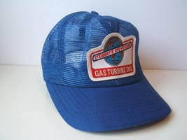 Stewart Stevenson Full Mesh Patch Hat Vintage Blue Snapback Trucker Cap ... - $46.09