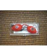 Vintage Original 1988 LUCAS Super Sunnies Eyeshields RED Tanning Bed Pro... - $11.83