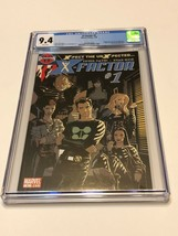 X-Factor - Marvel Comic Book - CGC 9.4 Issue # 1 White Pages - $50.00