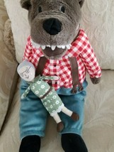"Ikea 17"" Plush Big Bad Wolf and Grandma Doll - $21.29"
