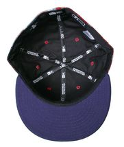 Dissizit Dx11 Bones Navy Red Plaid New Era 59FIFTY Fitted Baseball Hat Cap NWT image 7