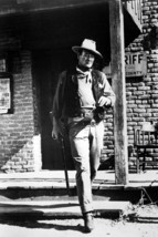 Rio Bravo John Wayne Walking Across St 18x24 Poster - $23.99