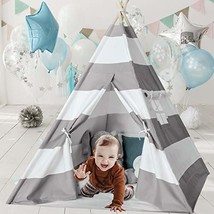 Ukadou Kids-Teepee-Tent-for-Kids with Carry Case- Kids Play Houses for Boys and