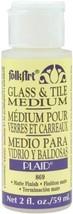 FolkArt Glass & Tile Medium 2oz - $4.77