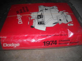 1974 Dodge Challenger Dart Charger Service Repair Shop Workshop Manual Set FEO - $148.44