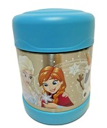 Thermos Disney Frozen Funtainer Stainless Steel Hot Cold Food Jar 10 oz ... - $13.59