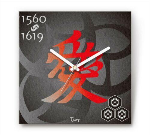 Sengoku Design Fabric Wall clock Interior Naoe Kanetsu - $98.99