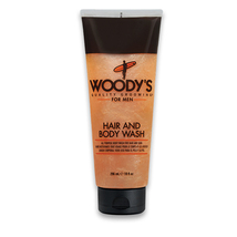 Woody's Hair and Body Wash, 10 oz