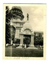 1920 Heros of the Alamo Monument Photo Texas State Capitol Grounds Austi... - $24.72