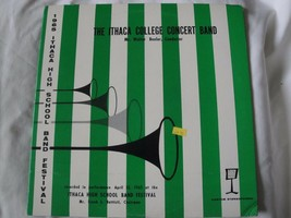 The Ithaca College Concert Band - 1965 Rendimiento - Vinilo Estéreo Record - $46.11