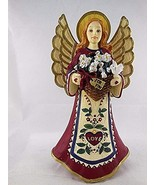 """Folk Heart Winter"" Angel - Celebrate With Love - By Kathy Killip - $21.73"