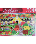 Artbox Jigsaw Puzzle, 500pc, Horse Lovers Paradise, Stable, New Unopened - $9.99