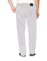 LR Scoop Men's Casual Stretch Denim Pants Moto Quilt Zipper Fashion Solid Jeans image 6