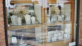 18K YELLOW GOLD BIG LONG PENDANT EBONY DROP PEARL, KYANITE, TOURMALINE, 10 CM    image 7