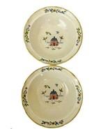 2 HEARTLAND Soup Bowls International China Stoneware Dishes Farm 7774 - ... - $12.86