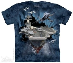 New AIRCRAFT CARRIER BREAKTHROUGH T SHIRT - ₹1,362.61 INR+