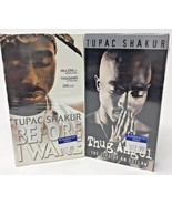 TUPAC SHAKUR - Lot of 2 (VHS) Thug Angel The Life Of An Outlaw & Before ... - $46.74