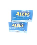 ALEVE 220 mg Naproxen Sodium 50 Tablets 2 Pack- 100 tablets total EXP 5/... - $7.88