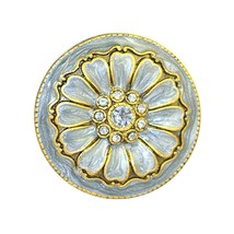 Set of 2 - Jewel cloisonne knobs - opal - $18.95