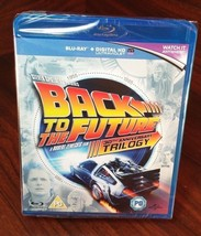 Back to the Future Trilogy Bluray Boxset(REGION FREE)NEW-Free S&H with T... - $21.67