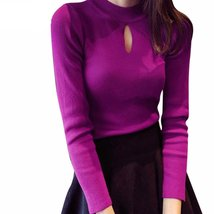 Casual Slim Keyhole Pullover - $16.36