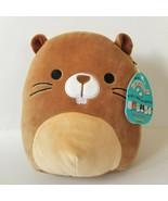 "Kellytoy Squishmallows Chip 8"" Brown Beaver Plush Stuffed Animal Toy Cud... - $38.69"