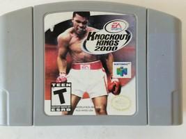 Knockout Kings 2000 Nintendo 64 N64 Game Pak 1997 - $7.99