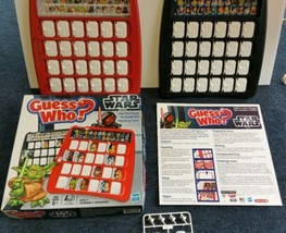 Guess Who? Star Wars Edition 2012 Memory Game by Hasbro 100% Complete Unused - $29.69