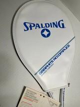 VIntage Spalding TR1800 Graphite/Fiberglass 4 3/8L Tennis Racket - New With Tags - $28.69