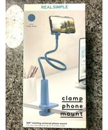 Real Simple Cell Phone Clip Phone Mount Flexible Rotating Universal - $12.38